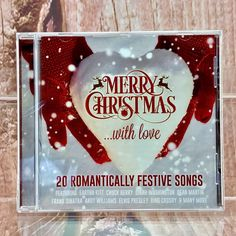 Merry Christmas With Love CD 20 Romantically Festive Songs Party Winter Santa for sale online Christmas Items, Merry Christmas, Andy Williams, Eartha Kitt, Bing Crosby, Chuck Berry, Dean Martin, Festive, Santa
