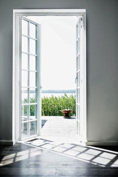 my scandinavian home: The idyllic lake-side Danish summer cottage