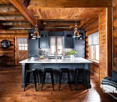 Cozinha rústica moderna   Eu Decoro