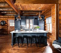Cozinha rústica moderna | Eu Decoro