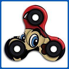 U-DanD Super Mario Head High Speed Tri-Fidget Spinner Most Popular Finger Toys In YOUTUBE INS - Fidget spinner (*Amazon Partner-Link)