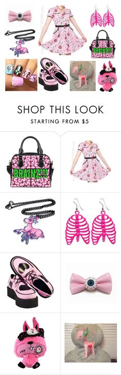 """""""Untitled #340"""" by mangerlecole ❤ liked on Polyvore featuring Sourpuss and T.U.K."""
