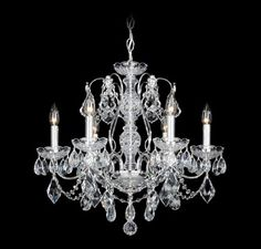 Buy the Schonbek Polished Silver Direct. Shop for the Schonbek Polished Silver Century 6 Light Wide Crystal Chandelier with Clear Swarovski Heritage Crystals and save. Chandelier, Mini Chandelier, Crystal Chandelier, Candle Style Chandelier, Candle Styling, Traditional Chandelier, Chandelier Lighting, Candlelight, Chandelier Shades