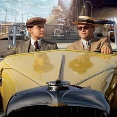 The Great Gatsby Poster with Leonardo DiCaprio and Tobey Maguire -- Jay Gatsby takes Nick Carraway for a ride in this latest look at director Baz Luhrmann's adaptation. -- http://wtch.it/qX1Nt