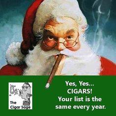Posting mostly cigar related quotes one-liners humor cartoons pinups cigar girls cigar art and that which advances cigar smoking.  Photos and art NOT my work. #santa #christmas #christmas2015 #christmascigars #cigar #cigars #cigarsociety #nowsmoking #cigarlife #Sotl #Botl #cigaraficionado  #cohiba #cigarporn #cigarian #cigaroftheday #cigarculture #habano #cohiba #cigarlounge #Cigarart #Cigarlifestyle #Smoke  #Sharetheleaf #cigarsmoker #cigarsmoke #cigarlovers #cigarworld #Stogie  #cigarsnob…