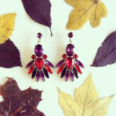 Perfect earrings for fall! ❤️