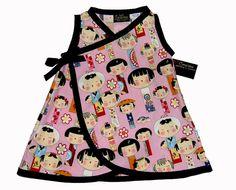 Japanese Clothing Kokeshi Doll  Geisha Kimono by consciouschildren