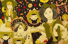 Animation,Art,Artist,Awesome Illustrations,creative,foreign literature,Indonesia,Inspiration,Japanese movies,Ketut Kusuma