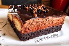 Müthiş Duble Çikolatalı Islak Kek Tarifi nasıl yapılır? 2.225 kişinin defterindeki bu tarifin resimli anlatımı ve deneyenlerin fotoğrafları burada. Yazar: Tuğçe'nin Mutfağı⭐️