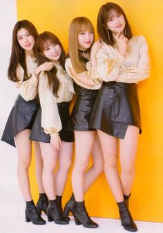 Girl Group, Leather Skirt, Asian, Actresses, Skirts, Angel, Kpop, Hearts, Female Actresses
