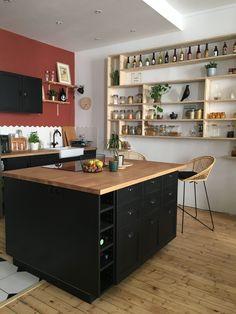 Home Staging, Cosy Interior, Boho Kitchen, Cuisine Amenagement, Home Deco, House, Kitchen Redo, Kitchen Design, Home Decor