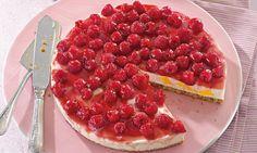 Leichte Himbeer-Pfirsich-Torte Rezept   Dr. Oetker