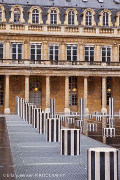 Columns at Palais Royal, Paris
