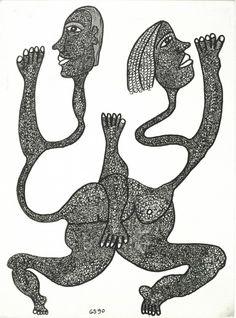 Gerard Sendrey > 소장품 소개   VERSI Outsider Art, Naive, The Outsiders, Symbols, Texture, Comics, Kunst, Surface Finish, Icons