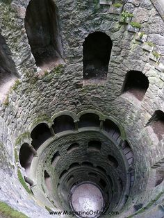 Amazing Architecture --  The Initiation Well, Sintra, Portugal