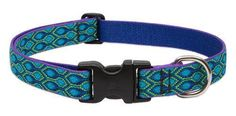 Lupine Originals Collection Adjustable Nylon Collar - Rain Song (Multiple Sizes Available)