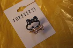 Forever 21 rings ♡