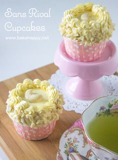 Perfect for all kinds of celebrations, here is a Sans Rival Cupcake Recipe that has crisp meringue layers, covered in smooth icing and sprinkled with cashew nuts