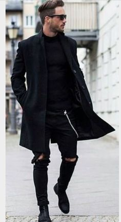 All black,so cool......