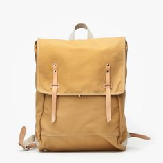 Рюкзак Makr Carry Goods x FOTT English Tan