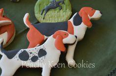 Hound dog sugar cookies.