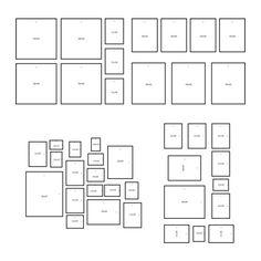 IKEA Deutschland | Mit der Aufhängeschablone MÅTTEBY lassen sich Bilder leicht zu einer persönlichen Collage ordnen.