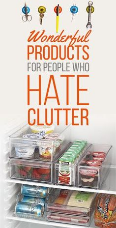 products for people who hate clutter