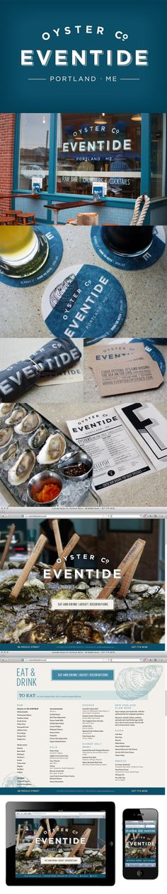 Eventide Oyster Co. DESIGN BY MIGHT&MAIN
