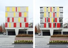 Shutters: 16 Social Housing for Granollers Town Hall / ONL Arquitectura