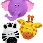 Laboratori per  bambini : maschere di animali