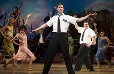 """Nine 2011 Tony Awards say it's the Best Musical of the Year. Vogue says, """"It's the funniest musical of all time."""" And the New York Times says, """"It's the best musical of this century."""" It's The Book of Mormon. Book Of Mormon Musical, Book Of Mormon Stories, Elephant Man, Tony Winners, Eugene O'neill, Andrew Rannells, Trey Parker, Matt Stone, Mormons"""