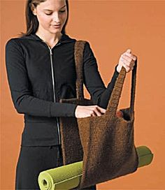 Image of Felted Zen Tote