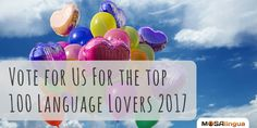 Hey guys! Please vote for us in the Top 100 Language Lovers contest! We're quite excited about it .   en.bab.la/news/top-100-language-blogs-2017-voting