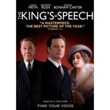 The Kings Speech/ I'm sure just about everyone has seen it...but if you haven't, you must! It's amazing.