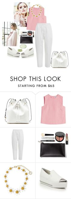 """""""You Be You"""" by nediam ❤ liked on Polyvore featuring Sole Society, Nuevo, Valentino, Zimmermann, Bobbi Brown Cosmetics, Dolce&Gabbana, Miu Miu, Fresh, women's clothing and women"""