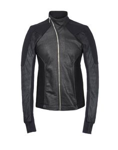 #MensJackets:Rick owens men's leather jacket