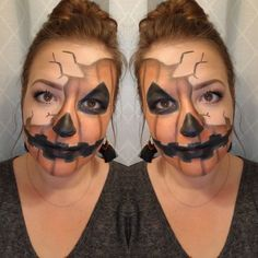 Come check out this fabulous look and see how to wear Younique Products! Halloween Looks, Halloween Snacks, Halloween Costumes, Halloween Face Makeup, Comic Makeup, Hallows Eve, Younique, Beauty Secrets, Masquerade