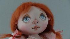 Мастер класс Юлии Наталевич по прорисовке лица куклы