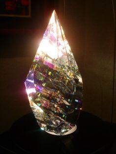 """Phoenix""Glass sculpture by  Jack Storms"