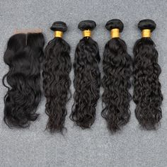 Brazilian Virgin Hair Water Wave With Closure 5pcs Lot Cheap Virgin Brazillian Hair With Closure Water Wave Hair Products 1B $90.00 http://locksncurls.com/products/brazilian-virgin-hair-water-wave-with-closure-5pcs-lot-cheap-virgin-brazillian-hair-with-closure-water-wave-hair-products-1b?utm_campaign=outfy_sm_1487298640_815&utm_medium=socialmedia_post&utm_source=pinterest   #front #best #peruvian #style #curly #art #virgin #hair #love #lace #wig #human #me #cortes #frontal