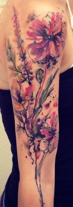 Love the watercolor aspect of this ink.