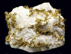 gold in quartz from Colorado-1