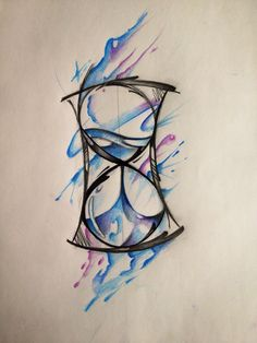 I'm liking the idea of an hourglass. Small and a little whimsical. Just a reminder to live life to it's fullest, and appreciate it.