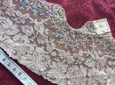 Vintage Spitze - +❤Antik!Plauener Spitze,BWspitz,Tüllspitze ❤+RAR - ein Designerstück von mypatchworld bei DaWanda Lace Trim, Designer, Etsy, Antiques, Women, Fashion, Vintage Lace, Fabrics, Antiquities
