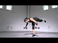 Nike Training Club with Nike Master Trainer Marie Purvis - Single Leg Dead Lift to Reverse Fly