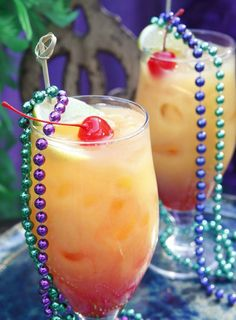 Serve up New Orleans-style Hurricane Cocktails with this recipe.