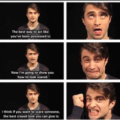 Daniel Radcliffe! You're so fantastic <3