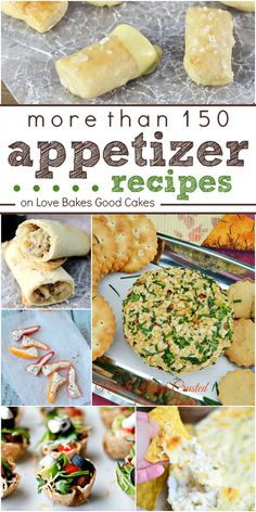 More than 150 Appetizer Recipes!
