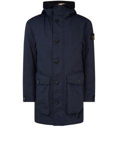 41449 DAVID-TC DOWN Jacket in Marine Blue