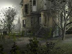 inside old abandoned mansions   Poze Case Bantuite Wallpaper Casa cu Fantome